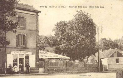l hotel de la gare -Bray-Lu