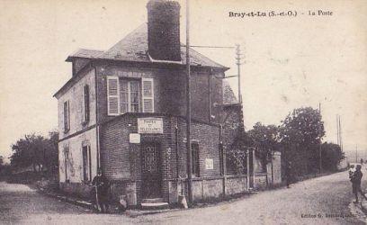 la poste -Bray-Lu