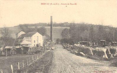 la scierie de pont-ru - Bray-Lu