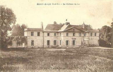le chateau - vue arriere - Bray-Lu